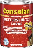 Consolan Wetterschutz-Farbe 0,75 l rotbraun