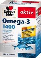 Doppelherz Omega-3 1.400 Kapseln (120 Stk.)