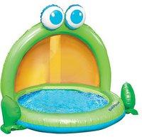 Babysun Nursery Planschbecken Frosch mit Sonnendach