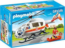 Playmobil City Life - Rettungshelikopter (6686)