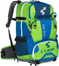 Cube AMS 30+5 Rucksack blue 'n' green
