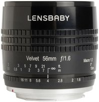 Lensbaby Velvet 56mm f1.6 [Nikon]