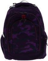 Take It Easy Schulrucksack Berlin Camouflage Purple