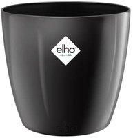 Elho Brüssel Diamond (16 cm) metallic schwarz