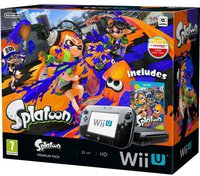 Nintendo Wii U Splatoon Premium Pack