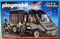 Playmobil Polizei-Mannschaftswagen mit Licht und Sound (6043)