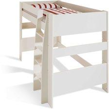 Steens Furniture Ltd Hochbett mit Leiter weiß