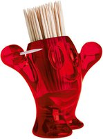 Koziol Party Tool Pic'Nix Zahnstocherhalter rot