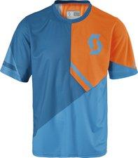 Scott Trail 40 S/SL Shirt mykonos blue/ neon orange