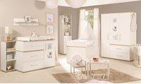 Roba Kinderzimmer Moritz (3-türig, groß/breit) weiß