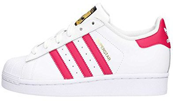Adidas Superstar Foundation Jr (B2364) white/rose