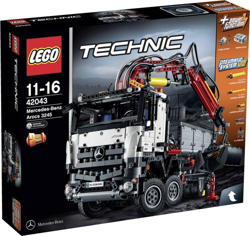 Lego Technic Mercedes Benz Arocs 3245 42043 Günstig Bestellen