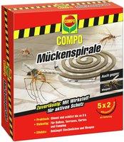 Compo Mückenspirale (10 Stück)
