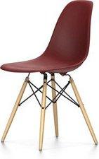 Vitra Eames Plastic Side Chair DSW oxidrot