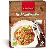 P. Jentschura Tischlein Deck Dich Quinoa-Hirse-Mahlzeit mit Gemüse (400 g)
