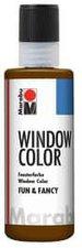 Marabu Fun & Fancy Window Color 80 ml dunkelbraun