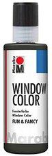 Marabu Fun & Fancy Window Color 80 ml, Konturen bleimetallic