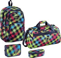 Hama All Out Kilkenny Rucksack rainbow check