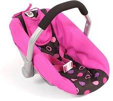 Bayer Chic Puppen-Autositz - hot pink pearls