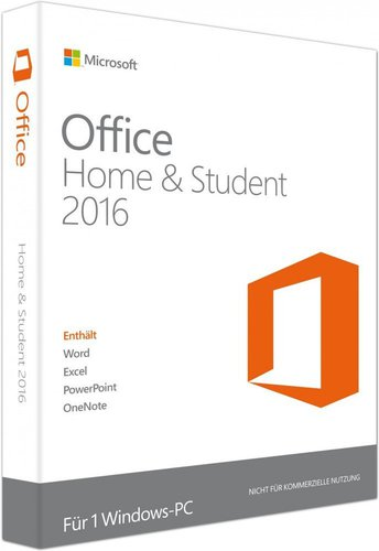 Microsoft Office 2016 Home and Student (DE) (Win) (ESD)