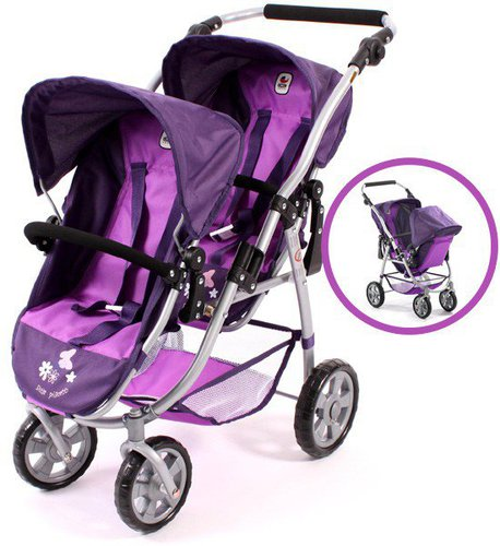 Bayer Chic Vario Tandem-Buggy - pflaume