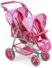Bayer Chic Vario Tandem-Buggy - pinky bubbles
