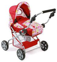 Bayer Chic Puppenwagen Piccolina - ruby red