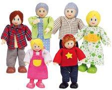 HaPe Puppenfamilie, helle Haut