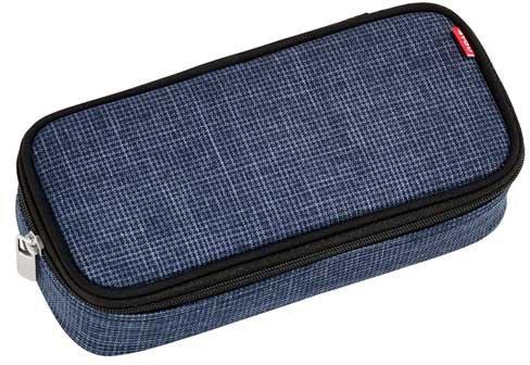 4You Pencil Case mit Geodreieck Blue