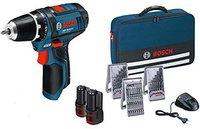 Bosch GSR 10,8-2-LI Professional Set 2 x 1,5 Ah (0 615 990 GA9)