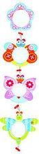 le Coin des enfants Kinder-Bilderrahmen Schmetterling