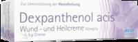 Acis Dexpanthenol acis Wund- und Heilcreme 50 mg/g (5 g)