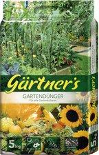 Gärtner\'s Gartendünger für alle Gartenkulturen 5 kg