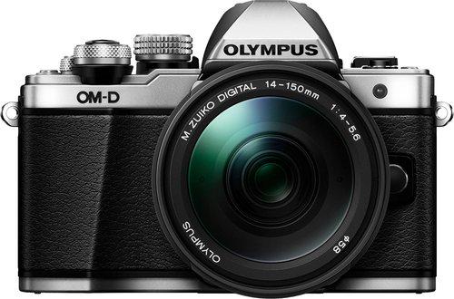Olympus OM-D E-M10 Mark II Kit 14-150 mm II silber