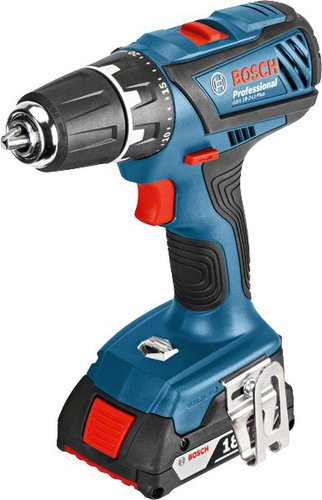 Bosch GSR 18-2-LI Plus Professional 3 x 1,5 Ah in (0 601 9E6 101)