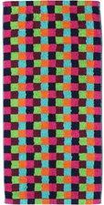 Cawö Life Style Karo 7047 Duschtuch multicolor (70 x 140 cm)