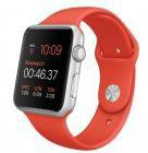 Apple Watch Sport 42mm Sportarmband orange