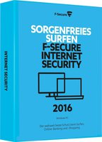 F-Secure Internet Security 2016 (3 User) (1 Jahr)
