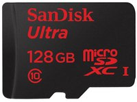 SanDisk Mobile Ultra microSDXC 128GB Class 10 UHS-I (SDSQUNC-128G-GN6IA)