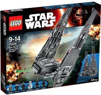 LEGO Star Wars - Kylo Rens Command Shuttle (75104)