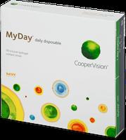 CooperVision MyDay (90 Stk.) +0,50