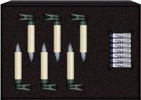 Krinner Lumix Classic Mini Erweiterungs-Set 6er elfenbein (447031)