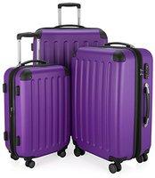 Hauptstadtkoffer Spree Spinner Set 55/65/75 cm violet