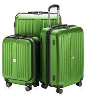 Hauptstadtkoffer X-Berg Spinner Set 55/65/75 cm mat apple green
