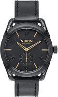 Nixon C39 Leather schwarz/gold (A459 010)
