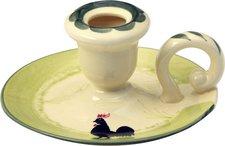 Zeller Keramik Hahn und Henne Leuchter (10/1-4201)