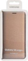 Samsung Flip Wallet gold (Galaxy S6 edge+)