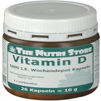Hirundo Products Vitamin D 5.600 I.E. Wochendepot Kapseln (26 Stk.)