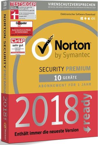 Symantec Norton Security 3.0 (10 Geräte) (1 Jahr) (PKC)