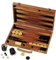 Weible Spiele Edelholz Backgammon Koffer 35/24/4